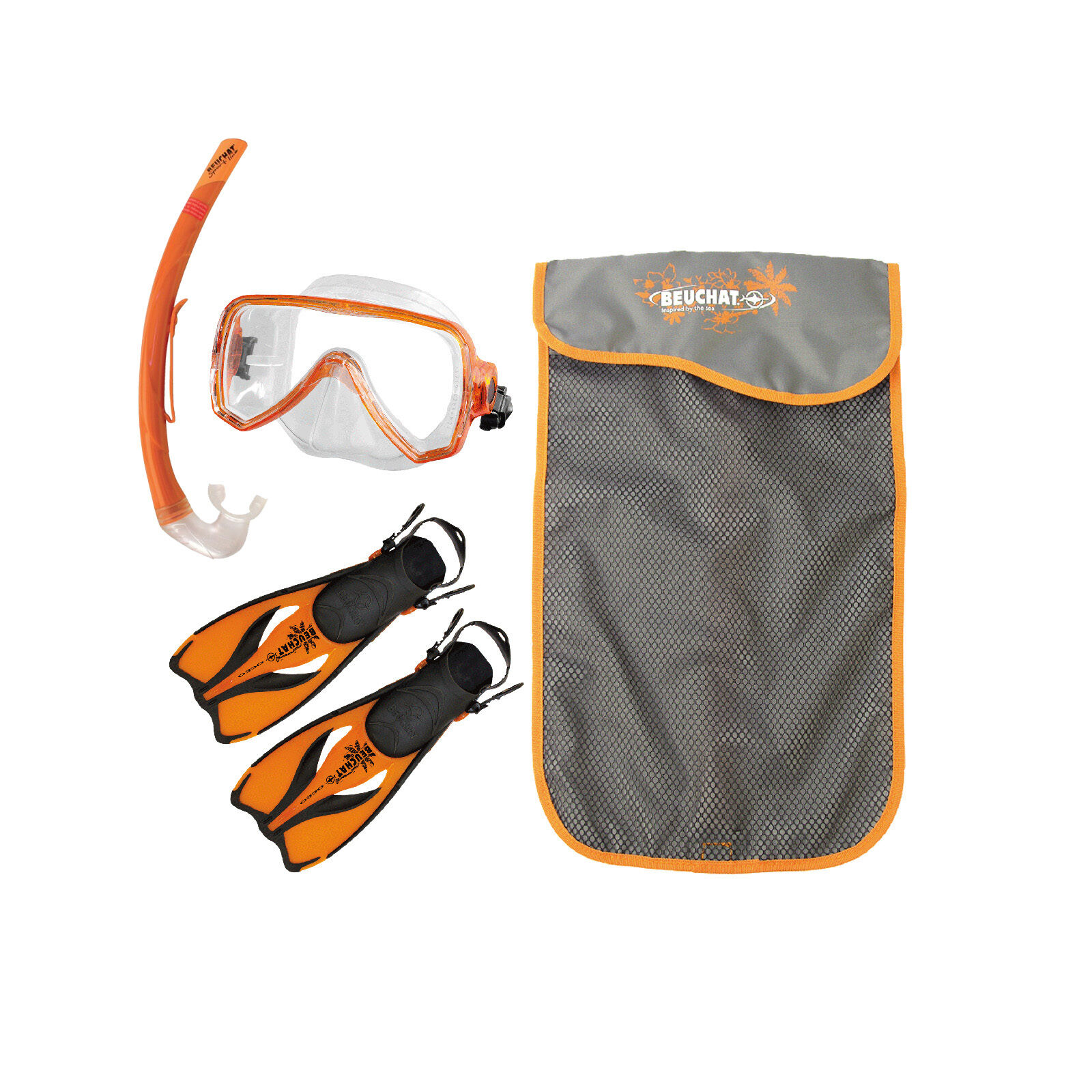Beuchat Oceo Junior  Snorkel Set for Kids  fast delivery