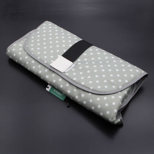 3-in-1 Baby Changing Mat Hat Case Clean Hands Pad Diaper Station Holder UK