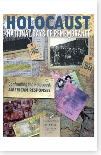 2014 Holocaust Days Of Remembrance American Responses Poster