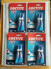 4 Pk Loctite Super Glue Gel Two 2 Gram Tubes 1399965 8 Tubes 4 Pack