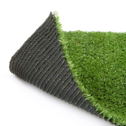 40mm Artificial Grass Astro Turf Fake Lawn Realistic Natural Green Garden Mat