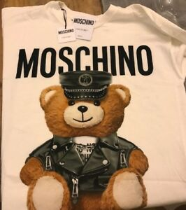 fa9c05be Image is loading AW16-Moschino-Couture-Jeremy-Scott-Teddy-Bear-Wearing-