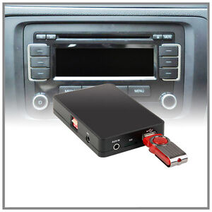 car usb aux sd mp3 cd changer adapter vw 12pin rcd 200 210. Black Bedroom Furniture Sets. Home Design Ideas