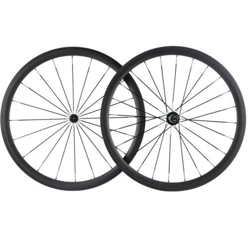 700C Carbon Wheels 38//50//60//88mm Road Bike Cycle Wheelset Basalt Braking surface