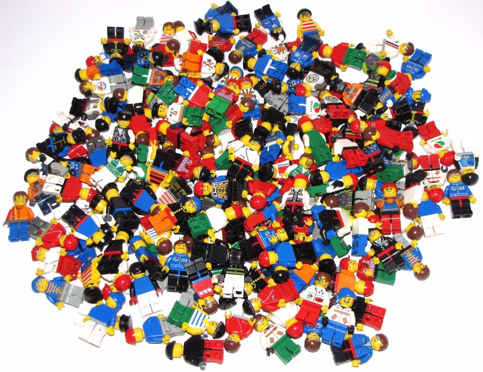 Lego Lot Of 100 Minifiguras Ciudad City City City Ninjago más Grab Bag Aleatorio Figuras 357b27