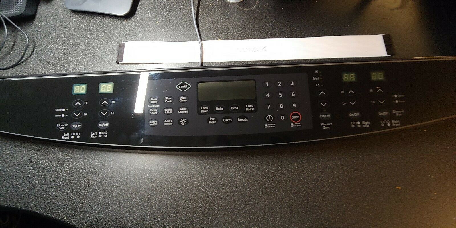 Genuine Frigidaire 318922144 Range Touchpad  and Control Panel