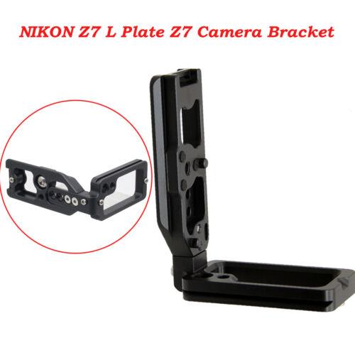 Z7 vertikaler Griff Quick Release L Platte Kamera halterung Halter Für Nikon Z7