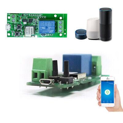 SONOFF 1CH DC5V WiFi Wireless Switch Inching Self-Locking Smart Relay Module Hot