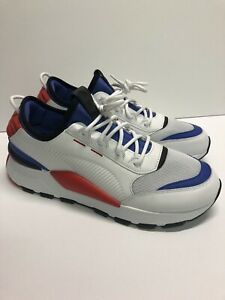 Details about Puma RS-0 808 Sound # 366890 01 White Blue Red Sz 9 11
