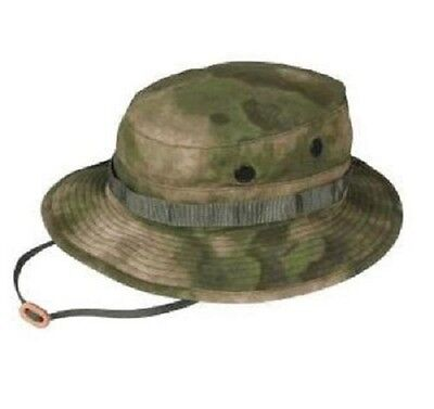 US MILITARY A-TACS Battle Rip Combat Army Patrol Boonie Tarn Mütze Hat ATACS