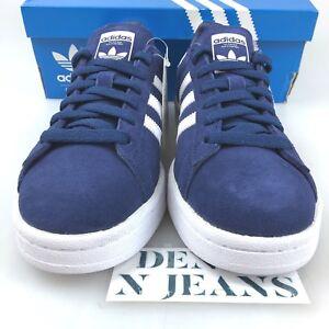 size 40 4b496 d0f9d La foto se está cargando Ninos-Adidas-Originales-BY9579-campus-J-Sneaker- Azul-