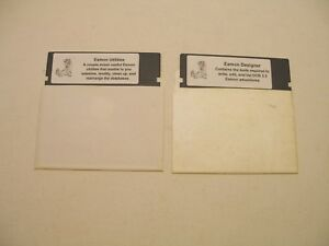 Eamon-Designer-amp-Utilities-Disks-for-Apple-II-Plus-Apple-IIe-Apple-IIc-IIGS