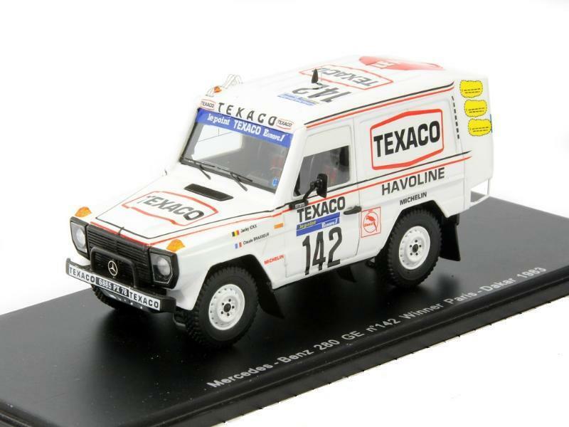 Mercedes-benz 280 ge w460 winner rally paris-dakar 1983 b6 604 0432 Spark 1 43