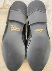 Schuhsticker 'Game over' – 13 Farben Hochzeit Aufkleber Schuhe Schuhaufkleber