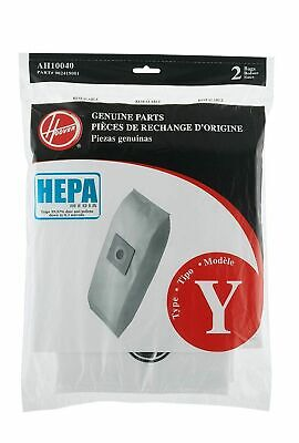 Hoover Style Y Cloth Vacuum Bags Type Vac HEPA Filtration Windtunnel T2 AH10040