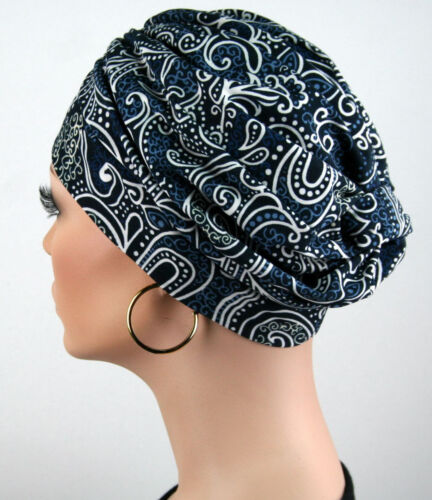 ELEGANCA DAMEN MÜTZE Chemo Turban Kopfbedeckung Cap Kopftuch Chemomütze Tessa