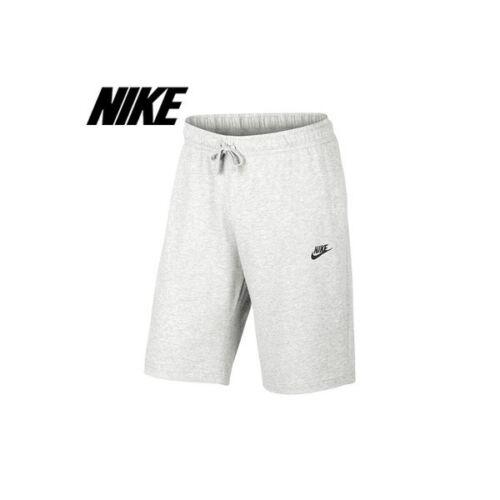 Nike Da Uomo Club jersey leggero in Pile Palestra Estate Abbigliamento Sportivo Pantaloncini-Birch