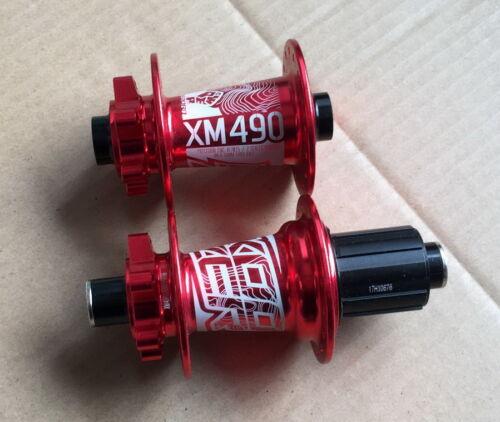 KOOZER Bearing Hub 32H MTB Road Bike disc brake Hubs Front 100*15 Rear 142*12mm