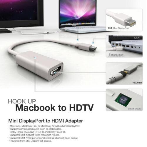 to VGA For Macbook Pro Air iMac Surface Pro 3 Mini DisplayPort Thunderbolt 2