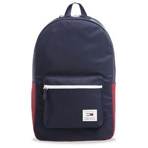 Black TOMMY HILFIGER Backpack Tommy Navy