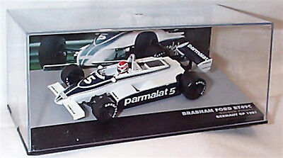 Atlas 1:43 Brabham Ford BT49C Nelson Piquet Germany 1981 F1 Collection