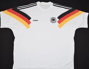 proteger muy nadar  1992-1994 GERMANY ADIDAS FOOTBALL TRAINING TOP (SIZE XL) | eBay