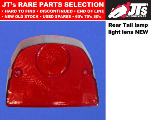 REAR TAIL LIGHT BACK BRAKE LAMP LENS YAMAHA SA50 M ME PASSOLA 80-84 AFTERMARKET