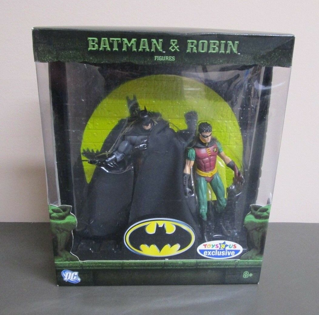 Batman and Robin 2007 DC SUPER HEROES Toys R Us Exclusive MOC