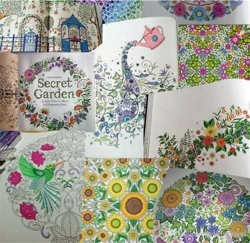 Secret Garden: An Inky Treasure Hunt and Coloring Book by Johanna Basford |  Randburg | Gumtree Classifieds South Africa | 250191861