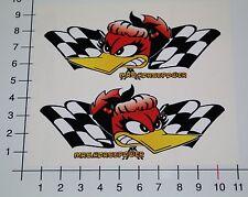 MRS HORSEPOWER 2 Stück Paar SET Aufkleber Sticker Roadrunner Woodpecker V8 Mi344