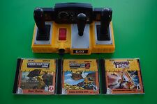 Matchbox Caterpillar CD-ROM Complete Set (3) Games with Keyboard Controller