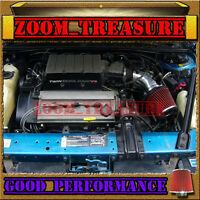 Black Red 1990-93 Chevy Lumina/oldsmobile Cutlass Supreme V6 Z34 Air Intake Kit