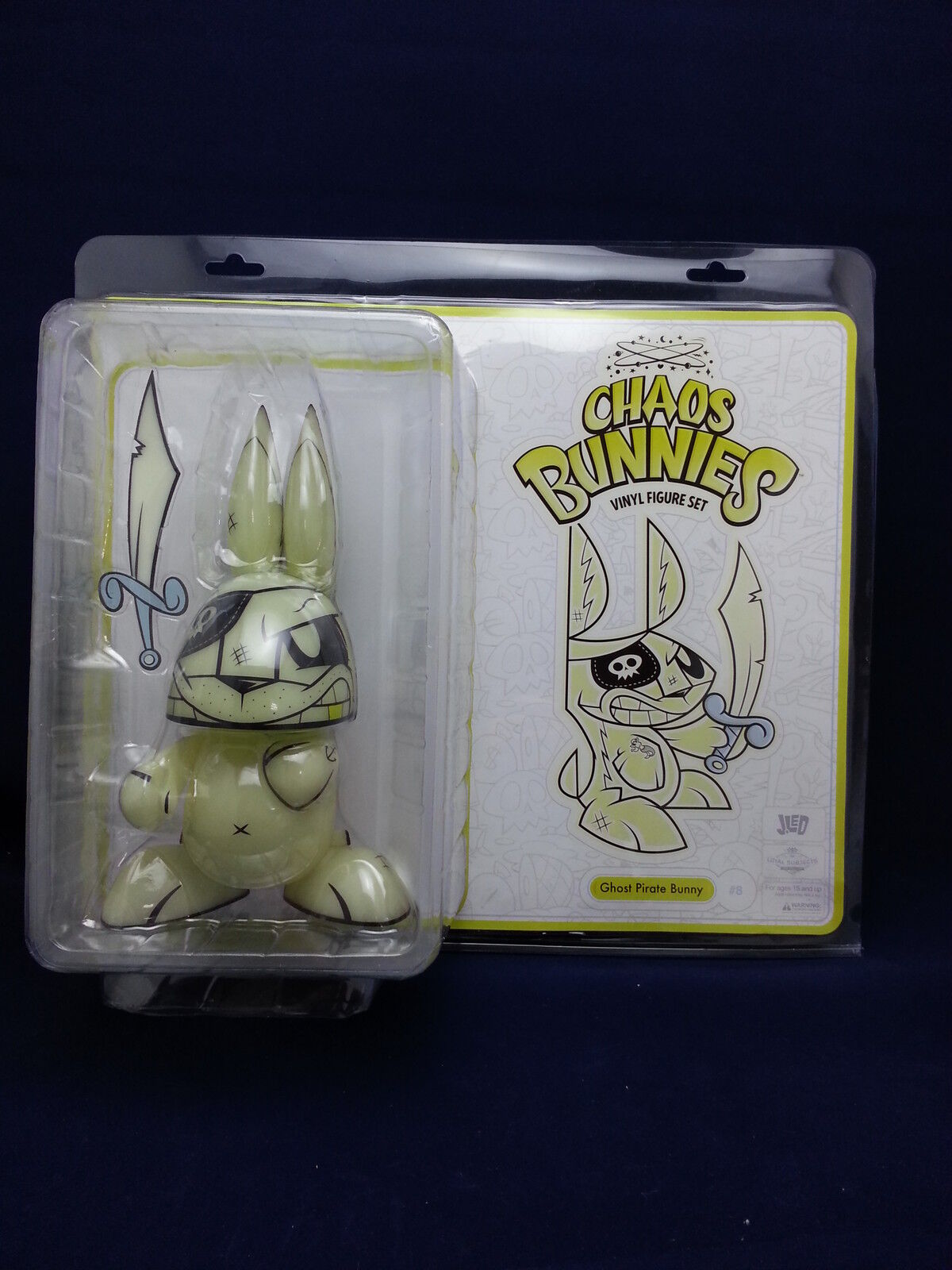 Los leales súbditos caos Ghost Pirata Bunny Gid 10  figura en todo el mundo libre S H
