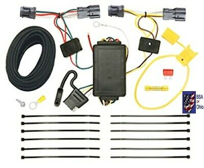 Tekonsha Trailer Hitch Wiring Tow Harness For Hyundai ...