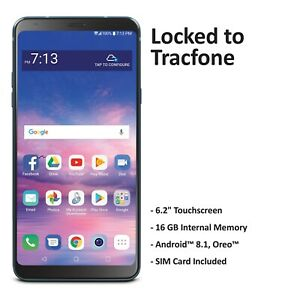($50 Gift Card Promotion) Tracfone LG Stylo 4 4G LTE Prepaid Cell Phone