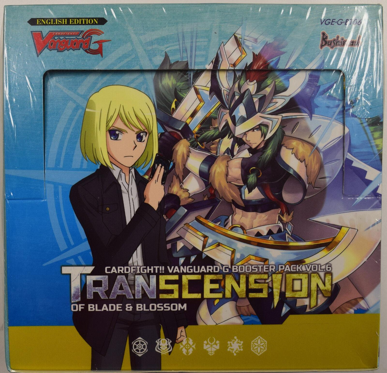 Cardfight Vanguard Transcension of Blade & Blossom Sealed Booster Box VGE-G-BT06