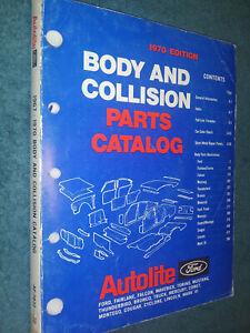 1967 Ford Mustang Parts Catalog