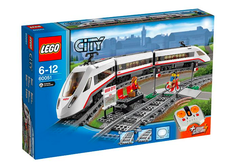 LEGO CITY 60051 High-speed Passenger Train 610 pieces
