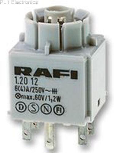 1.20.122.002 // 0000-bloc de contact 2NO standard RAFI