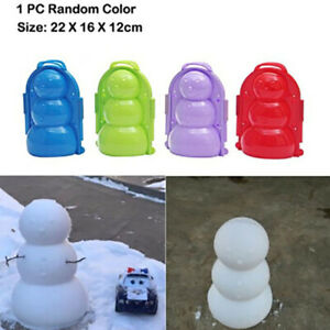 1PC-Winter-Snowball-Maker-Mold-Tool-Funny-Outdoor-Sport-Make-Snowman-Toys-BX
