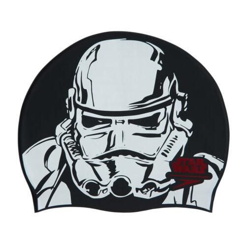 SPEEDO Star Wars Stormtrooper Slogan Stampa degli Adulti Nuoto Berretto