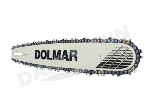 """DOLMAR Schwert 3//8/"""" 45 cm 2 Sägeketten für DOLMAR PS-550"""
