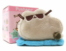 PUSHEEN SERIES 3: PLACES CATS SIT Mini Plush BLUE BEACH TOWEL Keychain Blind Box