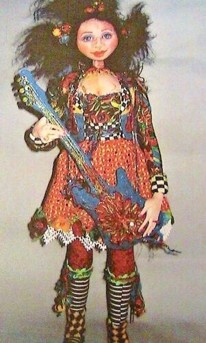 "PRINCESS MOONBEAM /& HER STARBABIES~Patti Culea 20/"" *RARE cloth art doll pattern"