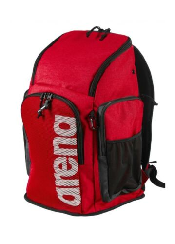 - 002436400 45L ARENA TEAM BACKPACK 45-52x35x27cm TEAM RED MELAN ZAINO