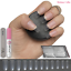 50-600-FULL-STICK-ON-Fake-Nails-STILETTO-COFFIN-OVAL-SQUARE-Opaque-Clear thumbnail 148