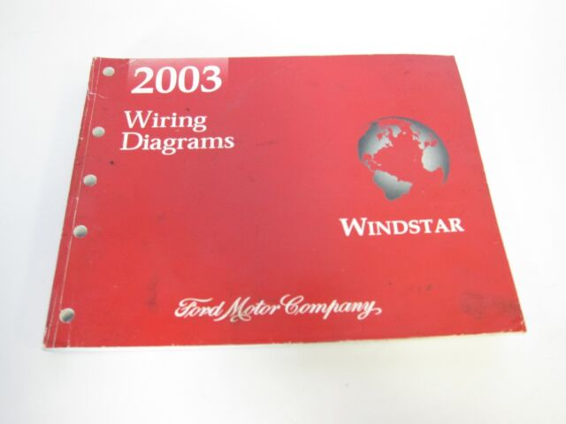 2003 Ford Windstar Wiring Diagram Workbook Manual