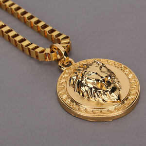 Luxury 18k gold plated micro lion head piece pendant men hip hop luxury 18k gold plated micro lion head piece mozeypictures Gallery