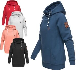 Details zu Marikoo Damen Sweatshirt Hoodie Pullover Sweater Kapuze Kapuzenpullover Sukoo