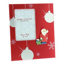 "Christmas Photo Frame Gift With 3D Santa - 2"" x 3"""